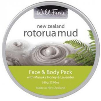 Kem Bùn Khoáng Dưỡng Toàn Thân ROTORUA & MẬT ONG MANUKA & OẢI HƯƠNG - New Zealand