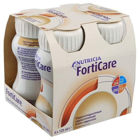 Sữa cho bệnh nhân ung thư: Nutricia FortiCare của Hà Lan