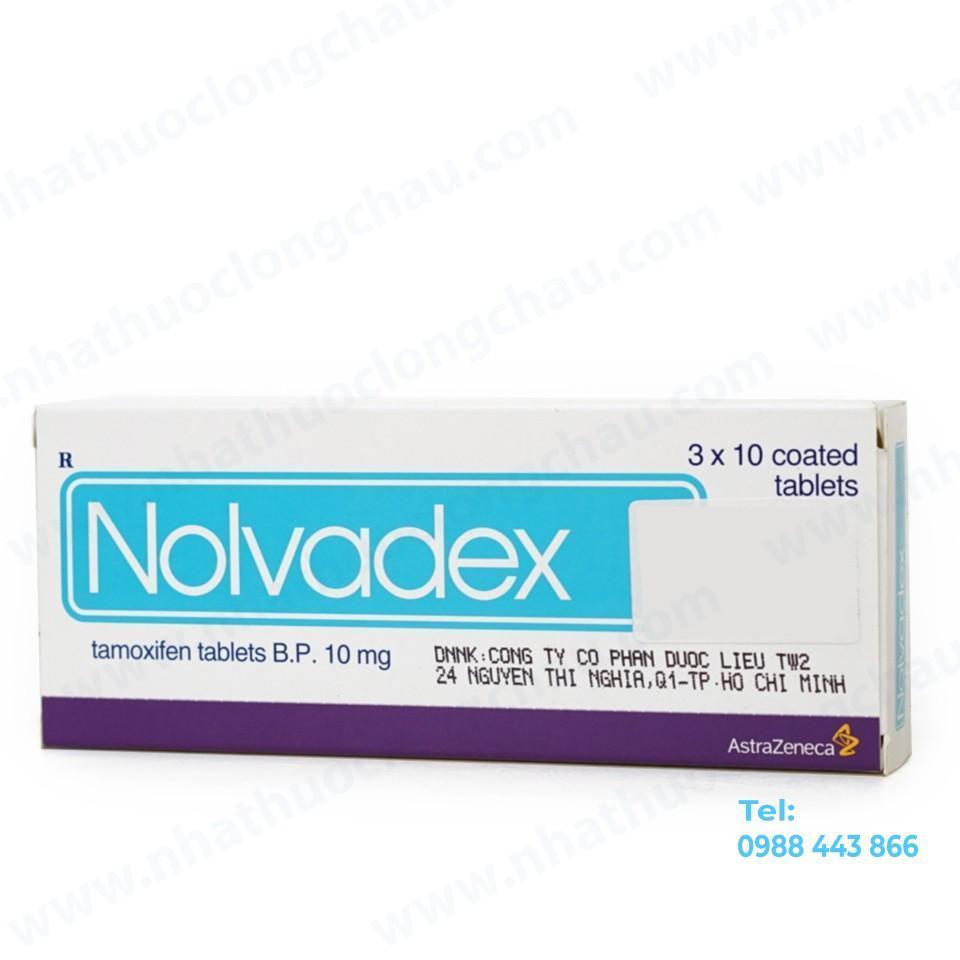 NOLVADEX 10MG (tamoxifen)