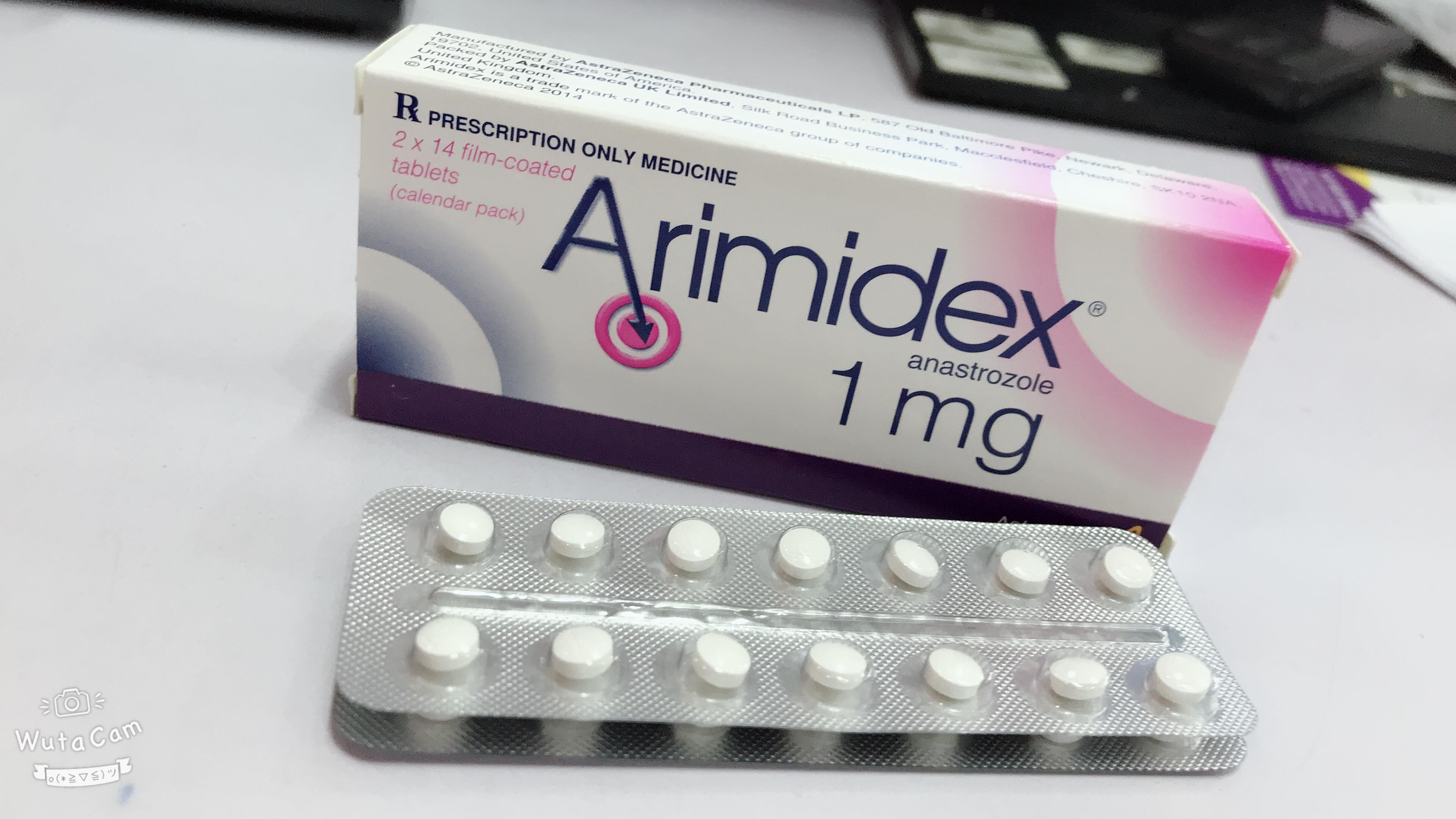 Ung thư vú: ARIMIDEX 1MG 2 vỉ x 14 viên của AstraZeneca, UK