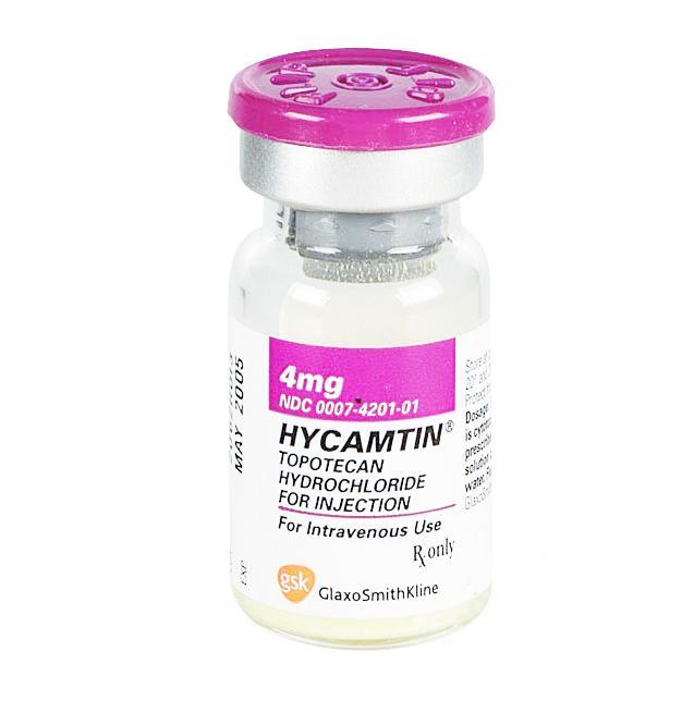 HYCAMTIN (Topotecan HCl) 4mg