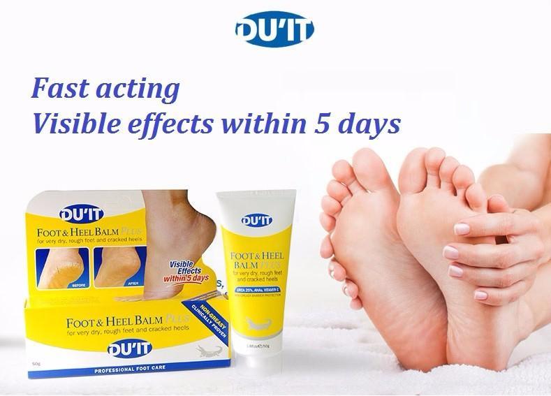 Nứt gót chân: Kem DU'IT FOOT & HEEL BALM Plus