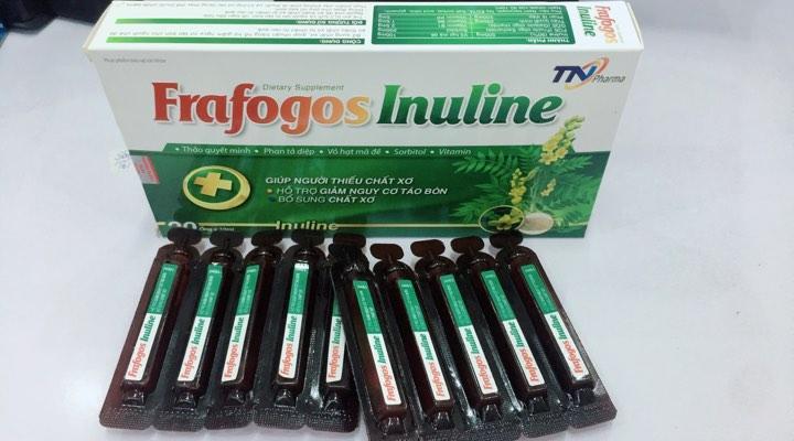 Tiêu hóa: CHẤT XƠ FRAFOGOS INULINE