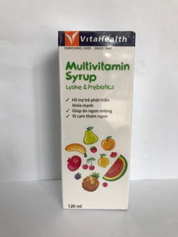 Vitahealth Multivitamin Syrup Lysine & Prebiotics
