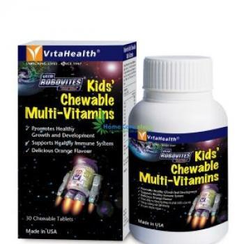 Vitahealth Robovites Kids' Chewable Multi-Vitamins