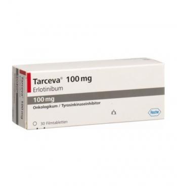Kìm hãm ung thư tụy: TARCEVA 100MG TABLETS B/30