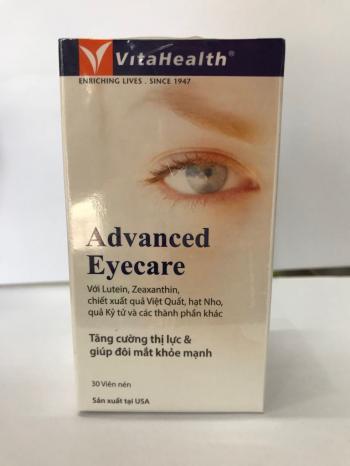 Sáng mắt: Viên ADVANCED EYECARE  của Mỹ