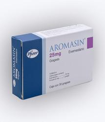 Ung thư vú: AROMASIN 25MG (Exemestane 25mg) H30 viên của Pfizer, Italy