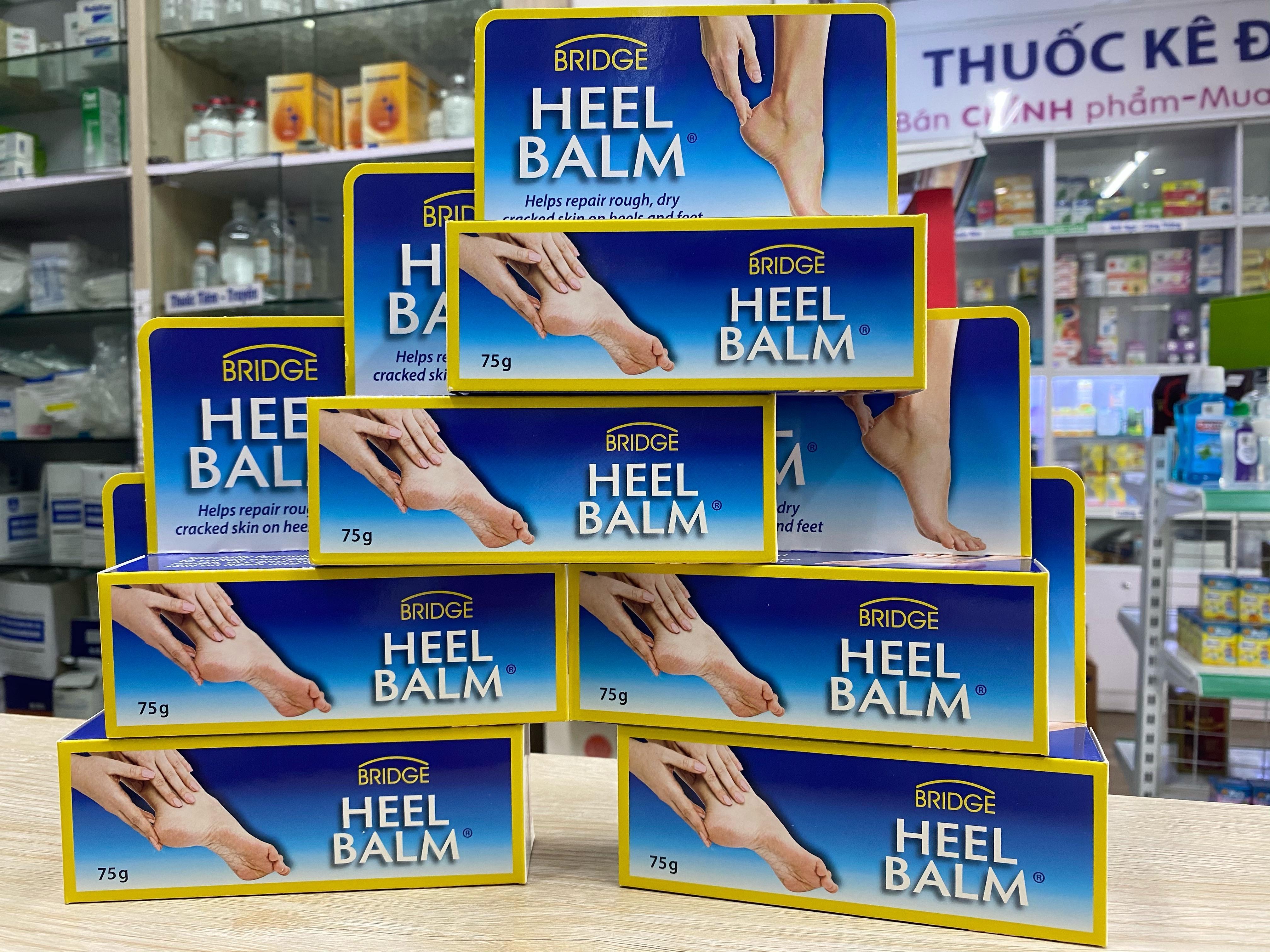 Nứt gót chân do hóa trị: Kem BRIDGE HEEL BALM của ÚC