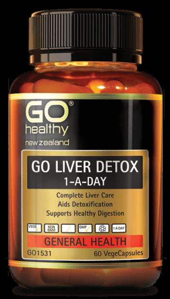 Thải độc gan: Go Liver Detox của New Zealand
