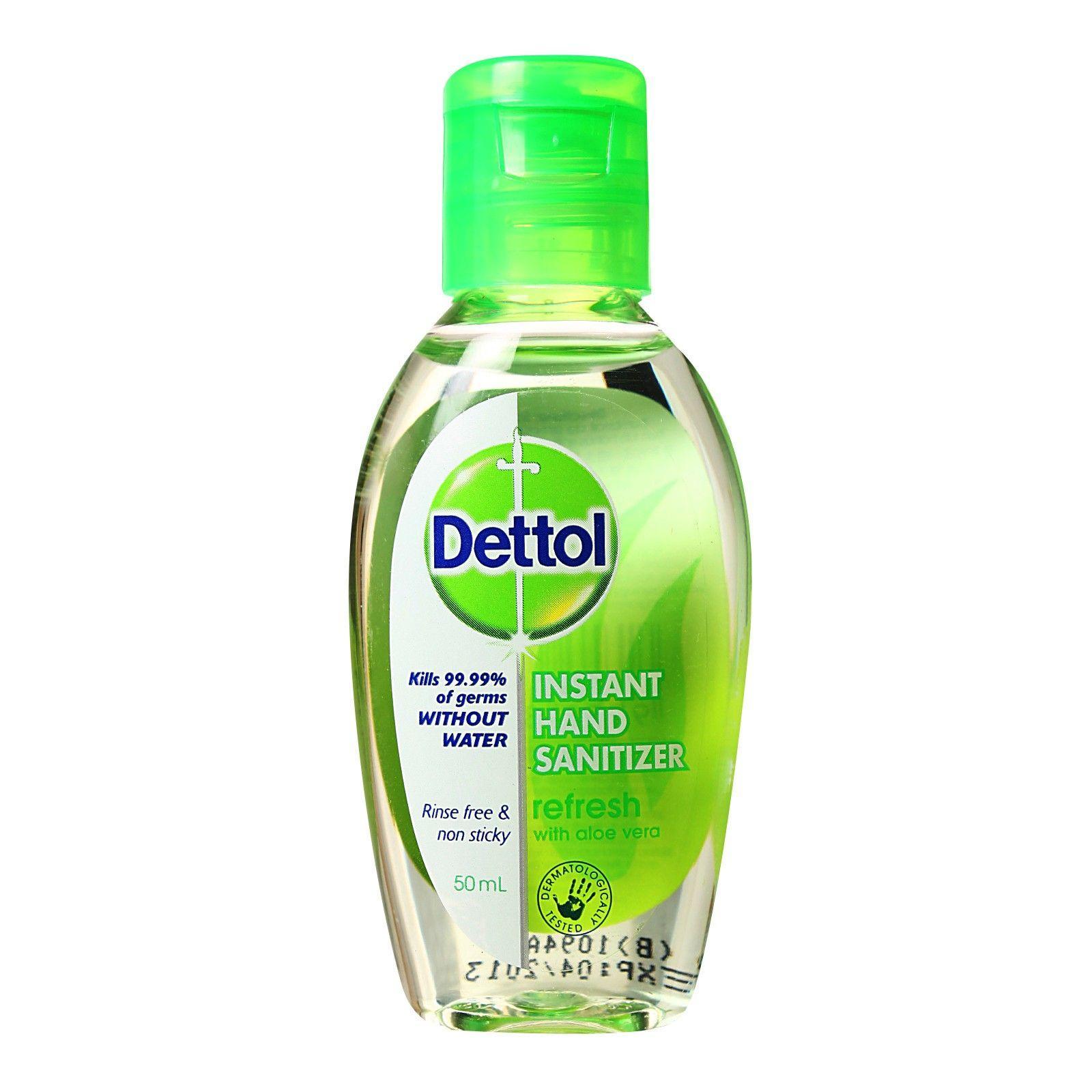 Gel rửa tay khô Dettol 50ml - Thái Lan