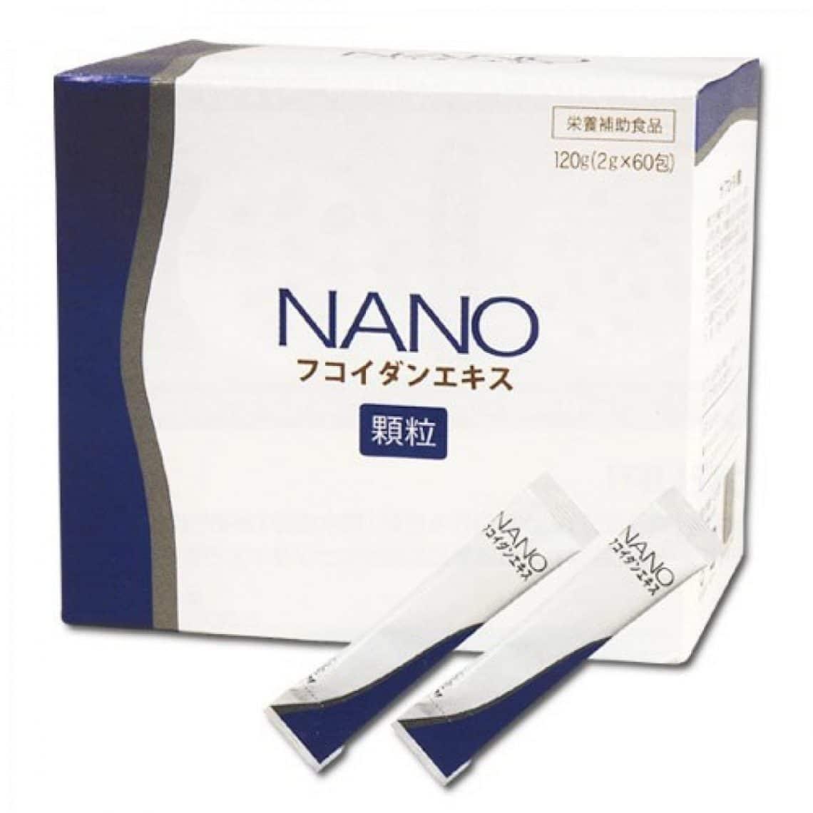 Tăng miễn dịch: NANO FUCOIDAN EXTRACT NHẬT BẢN H30 GÓI