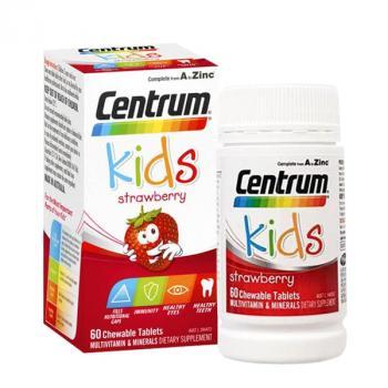 Centrum Kids Strawberry 60 viên cuả ÚC