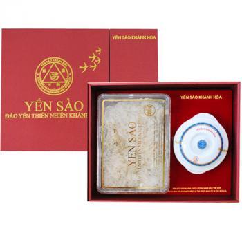 Tăng Cường Sức Khỏe: Yến tổ tinh chế Khánh Hòa  50g - Mẫu quà tặng
