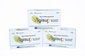 Thuốc đặt phụ khoa Vigisup