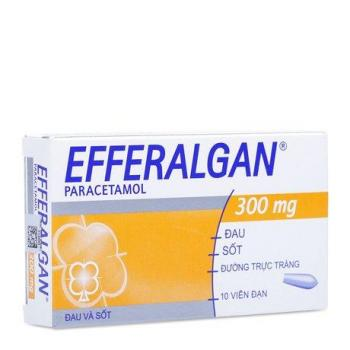 Thuốc giảm đau, hạ sốt Efferalgan (300mg)