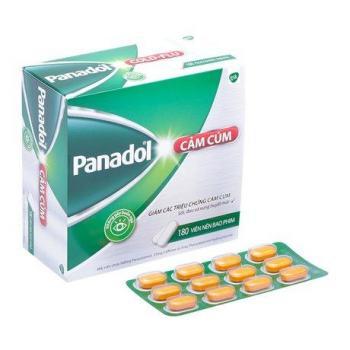 Thuốc giảm các triệu chứng cảm cúm không gây buồn ngủ Panadol Cold Flu (180 viên/hộp)