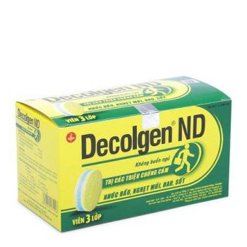 Decolgen ND (25 vỉ x 4 viên/hộp)