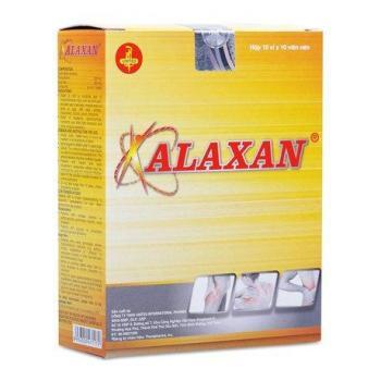 Alaxan (10 vỉ x 10 viên/hộp)