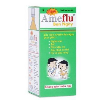 Sirô điều trị các triệu chứng cảm lạnh, cảm cúm thông thường Ameflu Daytime (60ml)