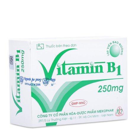 Thuốc điều trị thiếu hụt Vitamin B1 (250mgx100 viên/hộp)