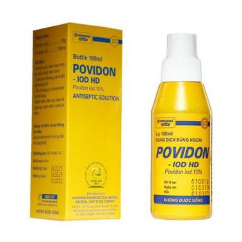Dung dịch sát khuẩn Povidine Povidon Iod 10% (90ml)
