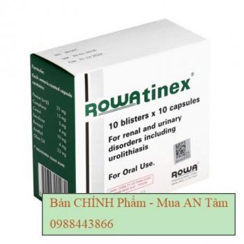 Thuốc điều trị sỏi niệu, sỏi thận Rowatinex (10 vỉ x 10 viên/hộp)