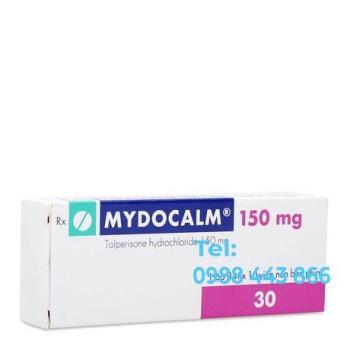 Mydocalm 150mg (3 vỉ x 10 viên/hộp)