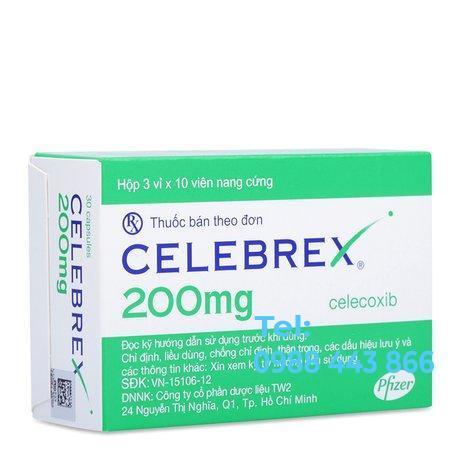 Celebrex 200mg (3 vỉ x 10 viên/hộp)