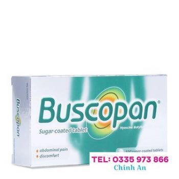Buscopan 10mg (5 vỉ x 20 viên/hộp)