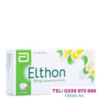 Elthon 50mg (2 vỉ x 10 viên/hộp)