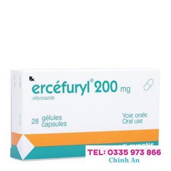 Ercefuryl 200mg (2 vỉ x 14 viên/hộp)