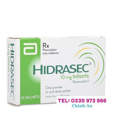 Hidrasec 10mg (16 gói/hộp)
