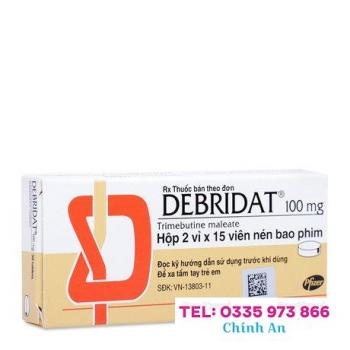 Debridat 100mg (2 vỉ x 15 viên/hộp)