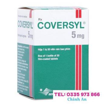 Coversyl 5mg (Hộp 1 chai 30 viên)