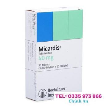 Micardis 40mg (3 vỉ x 10 viên/hộp)