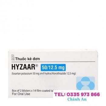 Hyzaar 50/12.5mg (2 vỉ x 15 viên/hộp)