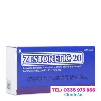 Zestoretic 20mg (2 vỉ x 14 viên/hộp)