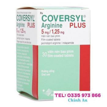 Coversyl Plus Arginine 5mg/1.25mg (30 viên/hộp)