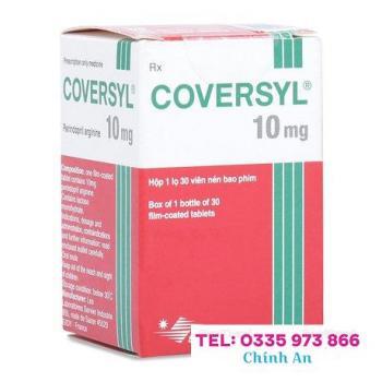 Coversyl Tab 10mg (30 viên/hộp)