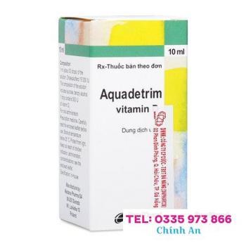 Aquadetrim Vitamin D3 (Hộp 10ml)