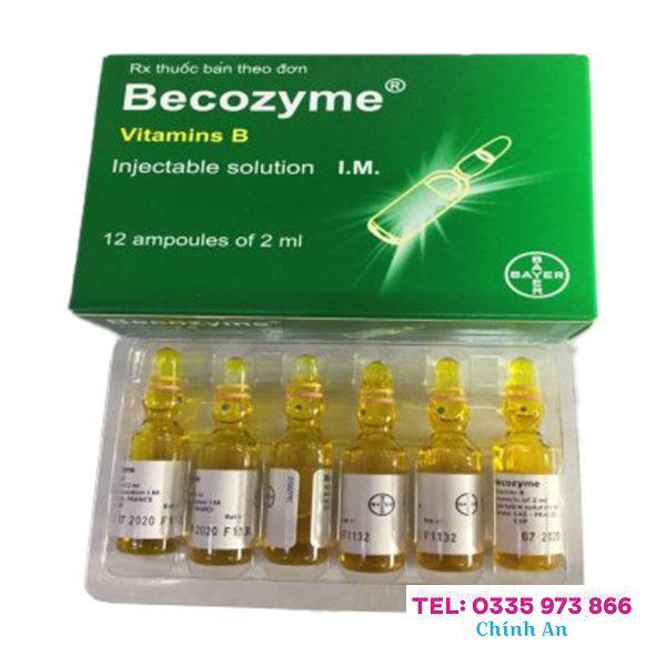 Becozyme 2ml Bayer (H12 ống)