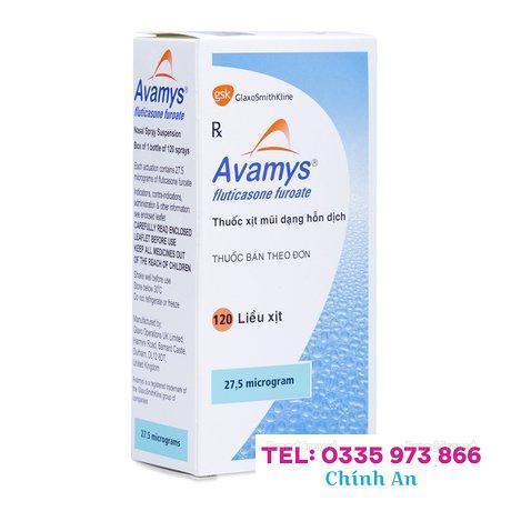 Avamys Fluticasone Furoate (120 liều)