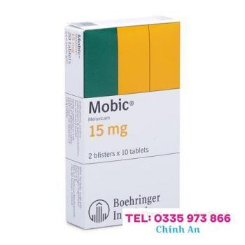 Mobic 15mg (2 vỉ x 10 viên/hộp)