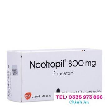 Nootropil 800mg (3 vỉ x 15 viên/hộp)