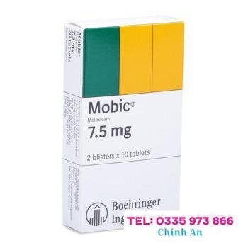 Mobic 7.5mg (2 vỉ x 10 viên/hộp)