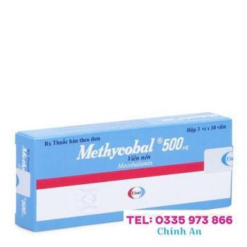 Methycobal 500mg (3 vỉ x 10 viên/hộp)