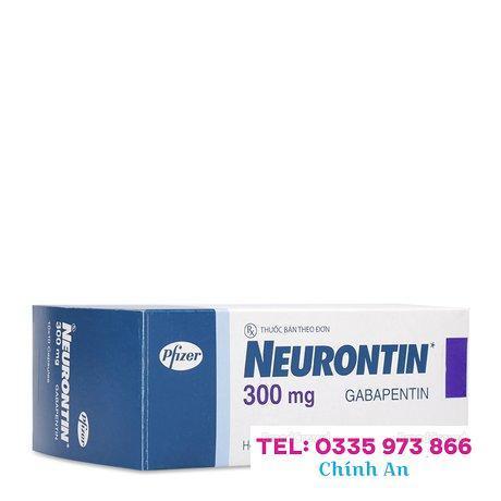 Neurontin 300mg (10 vỉ x 10 viên/hộp)