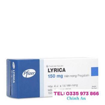 Lyrica 150mg (4 vỉ x 14 viên/hộp)