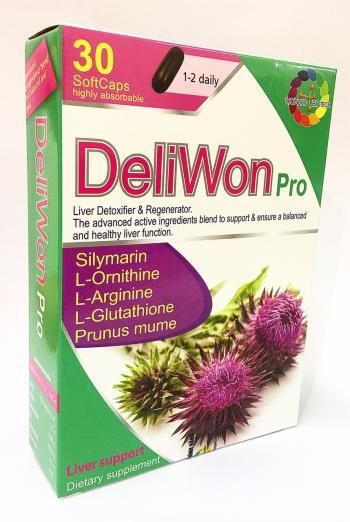 DeliWon pro - Giải độc gan H30 viên